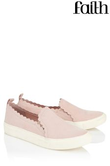 Faith Scallop Trainers