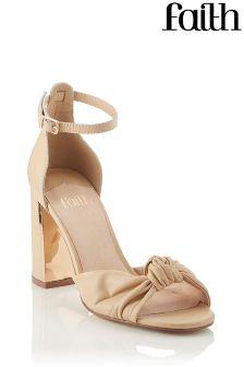 Faith Perpsex Knot Sandals