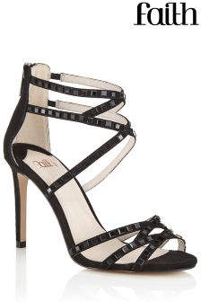 Faith Strappy Stone Sandal