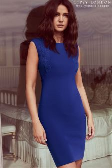 Lipsy Love Michelle Keegan Applique Detail Dress