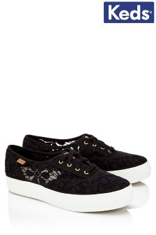 Keds Crochet Trainers
