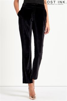 Lost Ink Velvet Trousers