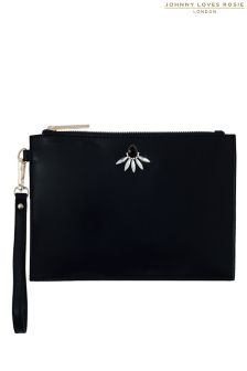 Johnny Loves Rosie Statement Clutch Bag