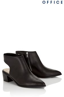 Office Sling Back Ankle Boots