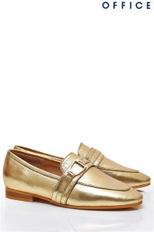 Office Metallic Loafers