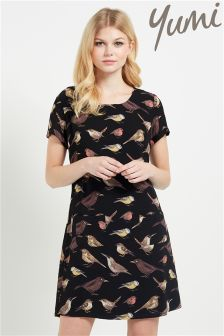 Yumi Print Shift Dress