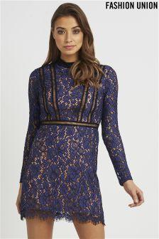 Fashion Union Lace Dress