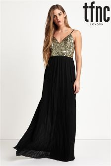 tfnc Cami Sequin Top Maxi Dress