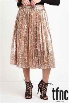 tfnc Sequin Midi Skirt