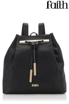 Faith Bar Drawstring Back Pack