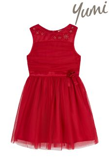 Yumi Girl Mesh Prom Dress