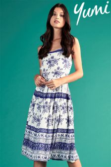Yumi Floral Tie Day Dress