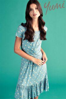 Yumi Spot Frill Day Dress