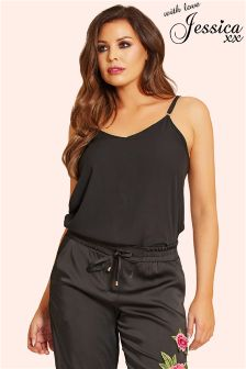 Jessica Wright Satin Cami Top