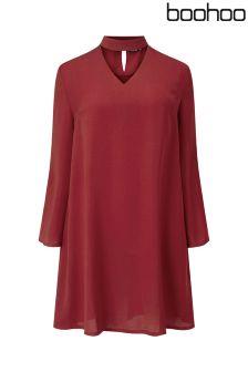 Boohoo Plus Detail Dress