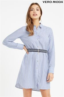 Vero Moda Stripe Shirt Dress