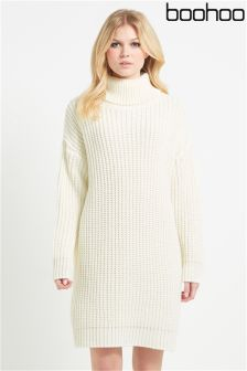 Boohoo Turtle Neck Jumper Dress