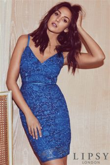 michelle keegan lace applique bodycon dress