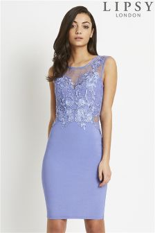 Lipsy Love Michelle Keegan Lace Applique Bodycon Dress