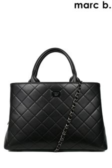 Marc B Quilted Grab Handbag