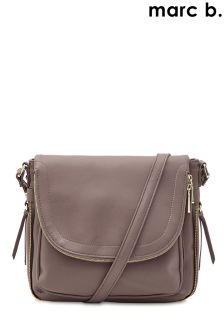 Marc B Pocket Detail Shoulder Bag