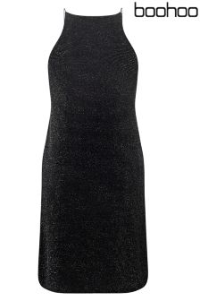 Boohoo Petite Lurex Cami Dress