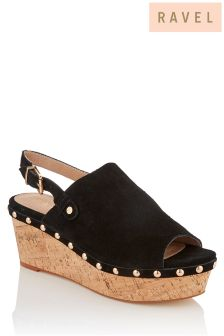 Ravel Wedge Sandal
