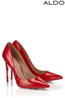 Aldo High Heel Pointed Patent Courts