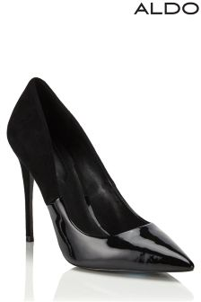 Aldo High Heel Pointed Two-tone Courts