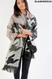 Glamorous Blanket Cape