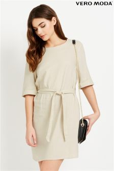 Vero Moda Belted Shirt Dress