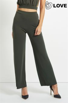 Love Co-ord Wide Leg Trousers