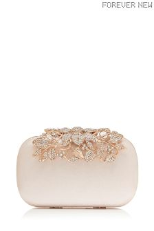 Forever New Embellished Clutch Bag