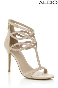 Aldo Embellished High Heeled Sandal