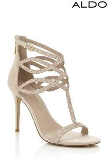 Aldo Embellished High Heeled Sandal