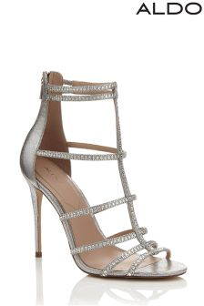 Aldo Embellished High Heeled Sandals