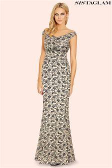 Sistaglam Bardot Maxi Dress