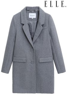 Elle Woolen Boyfriend Coat