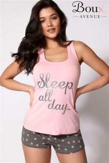 Boux Avenue Sleep All Day PJ Set