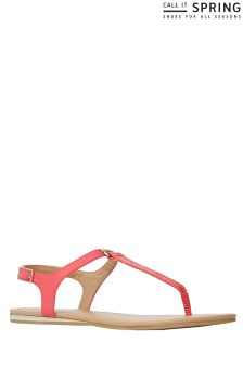 Call It Spring Buckle Sandals