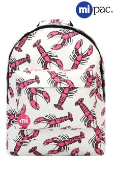 Mi-Pac Lobsters Print Backpack