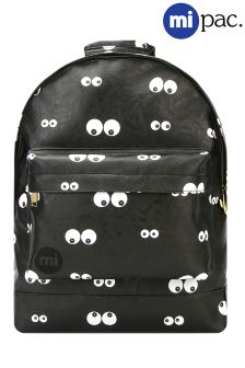 Mi-Pac Eyes Print Backpack
