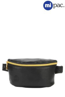 Mi-Pac Slim Bum Bag In Tumbled Faux Leather