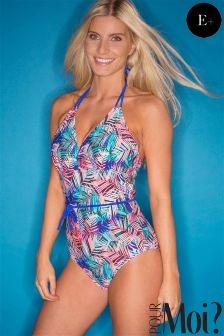 Pour Moi Aruba Underwired Control Swimsuit E+