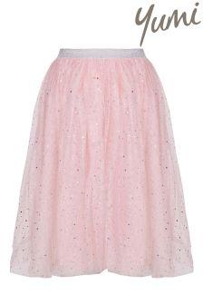 Yumi Girl Embellished Sparkle Tutu Skirt