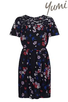 Yumi Girl Floral Lace Dress