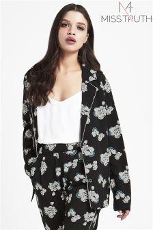 Miss Truth Floral Print Pyjama Shirt