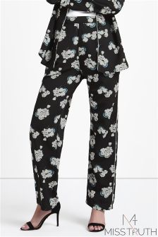 Miss Truth Floral Print Trousers