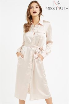 Miss Truth Shirt Dress
