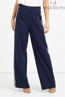 Miss Truth Pleat Tailored Trousers